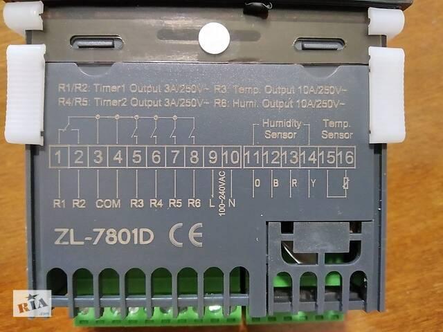 бу Контроллер терморегулятор LILYTECH ZL-7801D для инкубатора в Дніпрі (Дніпропетровськ)