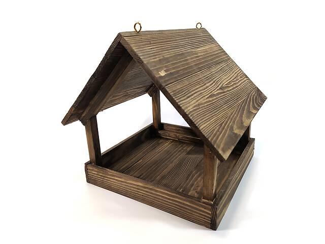 бу Кормушка для птиц подвесная 28х27х29 см Мастерская мистера Томаса Дерево Лазурь в Вінниці