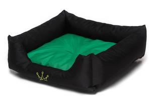 Лежак Noble Pet Henry 45 x 45 x 15 см Черно-салатовый (H2114/45)