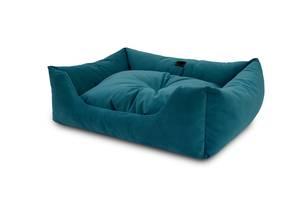 Лежак Noble Pet Dominic 55 х 45 x 15 см Синий (D2112)