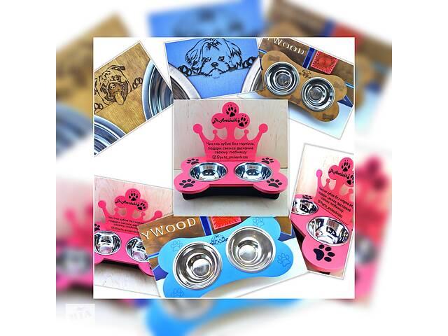 продам Миски для собак корм підставки поїлки аксесуари нашийник іграшки бу в Дніпрі (Дніпропетровськ)