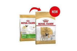 Royal Canin PUG - корм для собак породы мопс. Скидка 50% на вторую пачку такого корма