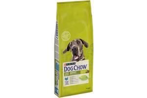 Сухий корм Dog Chow Large Breed Adult корм для дорослих собак великих порід з індичкою 14 кг=650грн.