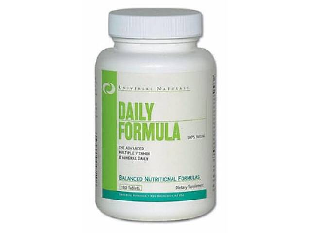 купить бу Витамины и минералы Universal Nutrition Daily Formula, 100 таб (105009) в Полтаві