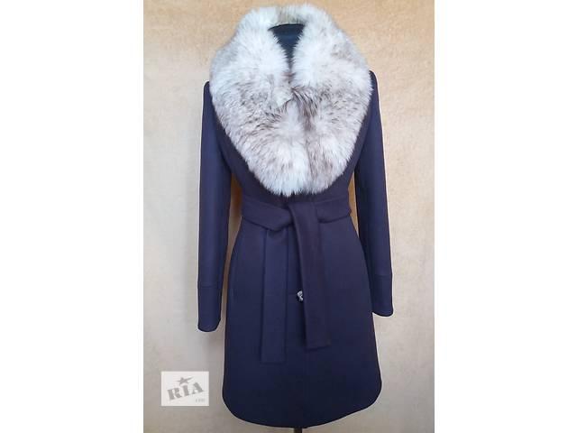 купить бу Зимнее пальто с натуральным мехом в Николаеве