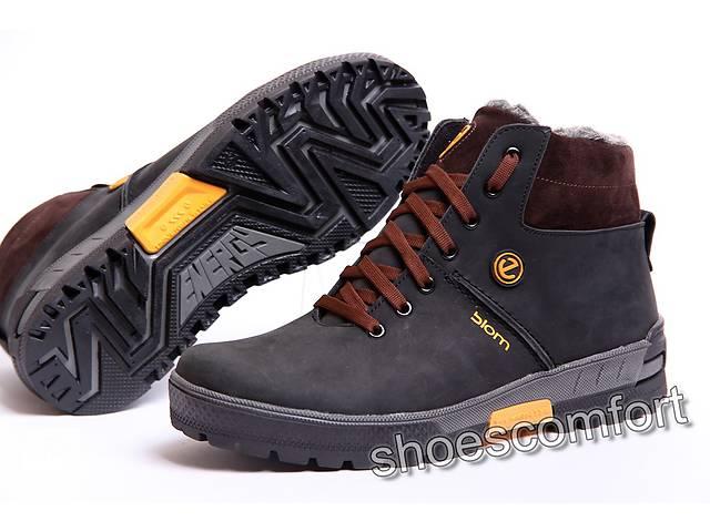 бу Зимние ботинки Ecco model 359 - 2 из натуральной кожи в Вознесенске