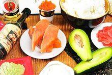 Готовые наборы продуктов для суши и роллов