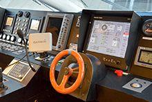 Системы управления судном и двигателем