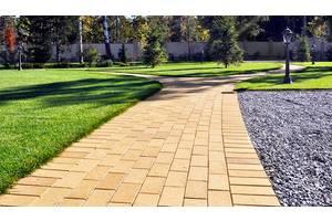 Укладка тротуарной плитки благоустройство территории