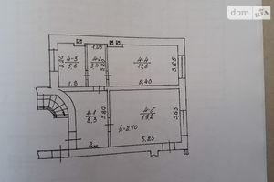 Продается 2-комнатная квартира 53.9 кв. м в Залещиках