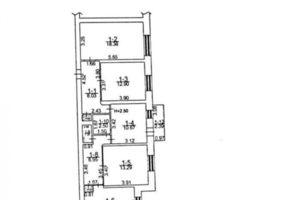 Продается 4-комнатная квартира 87 кв. м в Богуславе