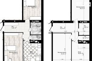Продается 2-комнатная квартира 73.44 кв. м в Одессе