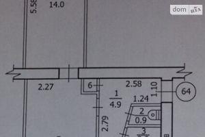 Продается 2-комнатная квартира 47 кв. м в Лутугине