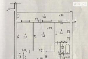 Продається 2-кімнатна квартира 59 кв. м у Дніпрі