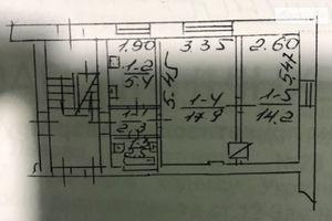 Продается 2-комнатная квартира 42.5 кв. м в Львове