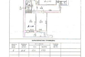 Продається 4-кімнатна квартира 81 кв. м у Херсоні