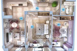 Продается 2-комнатная квартира 76.7 кв. м в Одессе