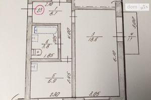 Продается 1-комнатная квартира 39.2 кв. м в Троицком