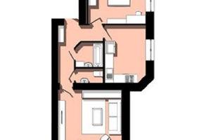 Продается 2-комнатная квартира 55.14 кв. м в Тернополе