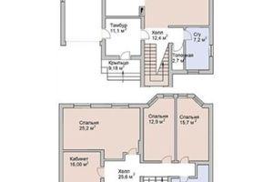 Продається будинок 2 поверховий 199 кв. м з садом