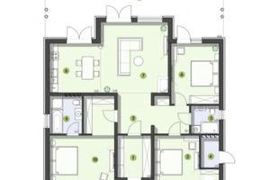 Продается дом на 2 этажа 134 кв. м с гаражом