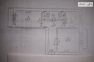 Продається 2-кімнатна квартира 58 кв. м у Петровому